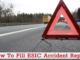 how to fill esic accident report