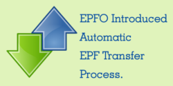Automatic PF Transfer Process