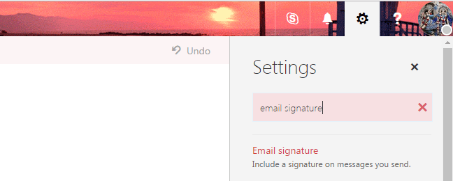 Add Signature Office 365 Outlook Email