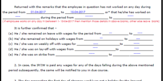 sample filled esic form 10 / how to fill esic form 10