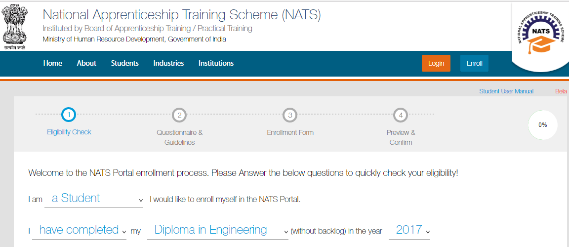 What Is National Apprenticeship Training Scheme 2017