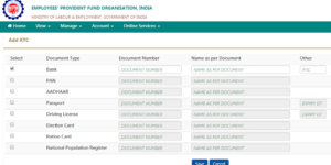 How To Change / Update Approved Bank Account (Under KYC) On The UAN Portal