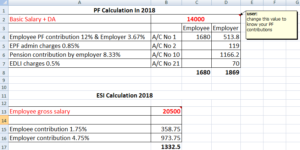 How to Calculate PF and ESI with Example