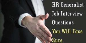 HR Generalist Interview Questions