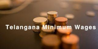 Telangana Minimum Wages 2019