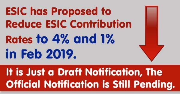 ESI New Contribution Rate