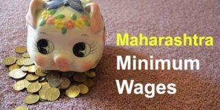 Maharashtra Minimum Wages Jan 2019