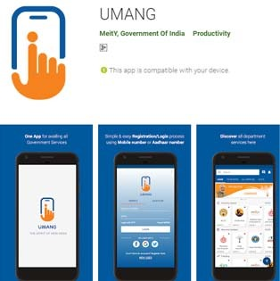 Umang Application