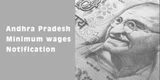 Andhra Pradesh Minimum Wages Notification 2019 PDF