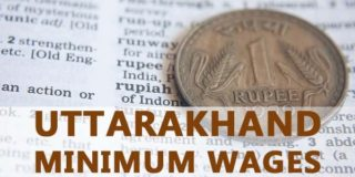Uttarakhand Minimum Wages Notification