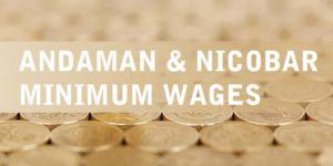 Andaman and Nicobar Minimum Wages Notification
