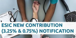 Download ESIC New Contribution Rate 2019 Gazette Notification