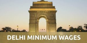 Latest Delhi Minimum Wages Notification 2019-20