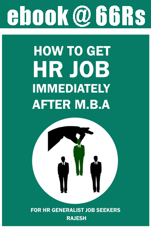 How to get HR after MBA ebook