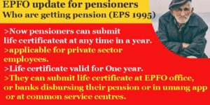 Last date of submission of life certificate for pensioners 2020