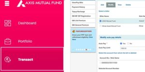 How to Stop SIP in Axis Mutual Fund