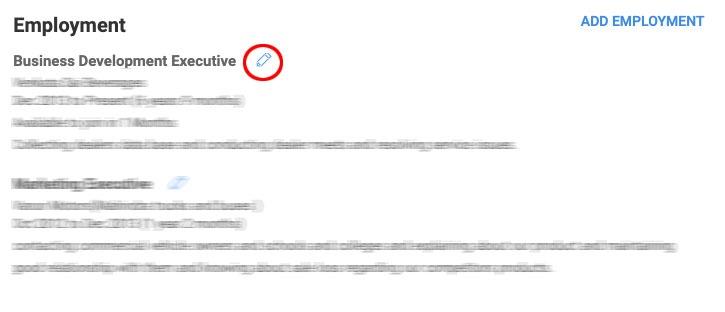 how to update notice period in naukri website