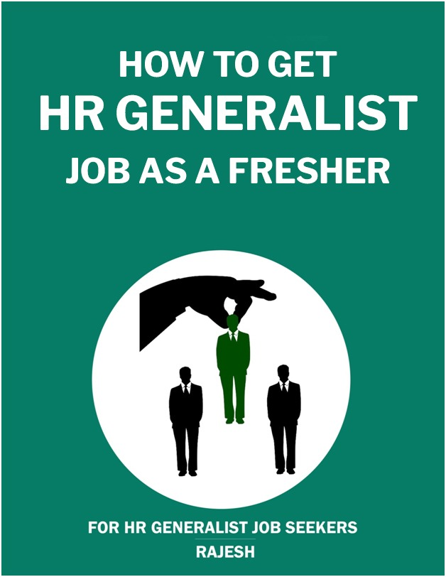 how to get hr generalist job as a fresher