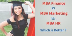 MBA Finance vs MBA Marketing vs MBA HR