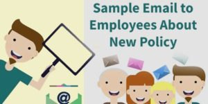 Sample Email to Employees About New Policy