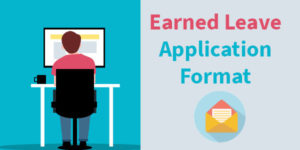 Earned Leave Application Formats in English