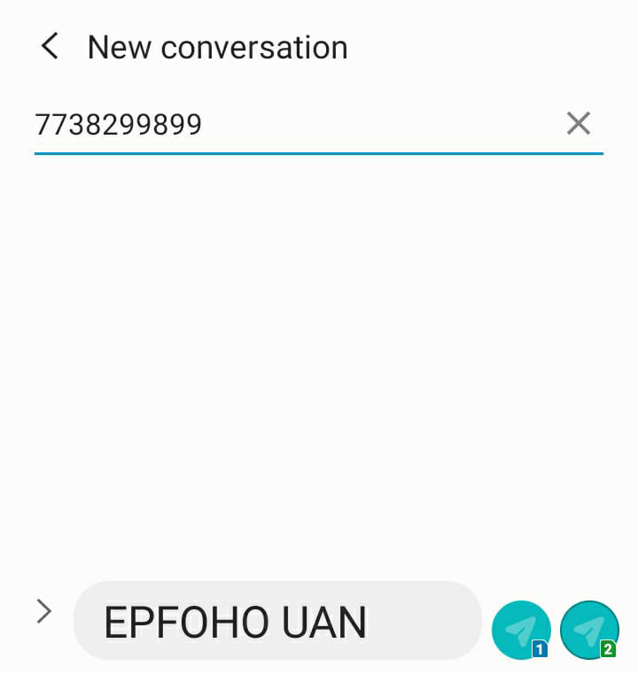 Old pf account number balance check by sms,