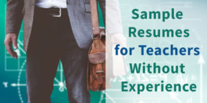 Sample Resume for First Time Teachers without Experience in India
