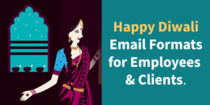 Happy Diwali email formats for employees and clients