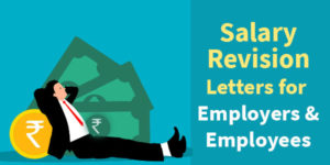 Salary revision letter format in Word